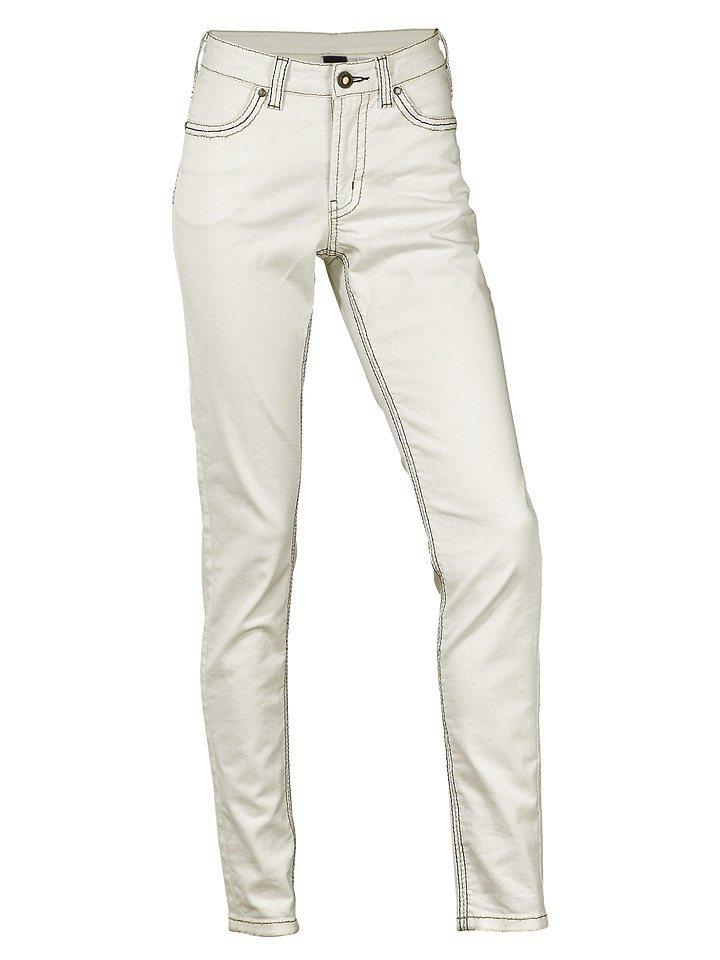 Jeans in ecru