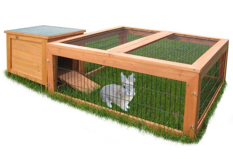 Kleintierhaus »Maxi« für Auslaufgehege in braun