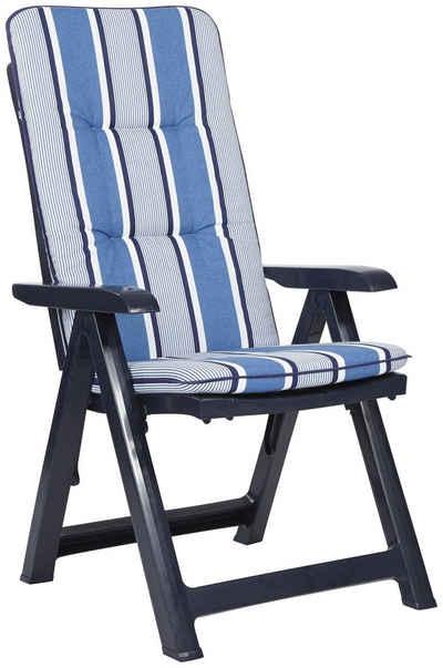 gartenst hle blau kunststoff ib86 kyushucon. Black Bedroom Furniture Sets. Home Design Ideas