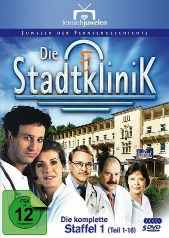 DVD »Die Stadtklinik - Die komplette Staffel 1 (5...«