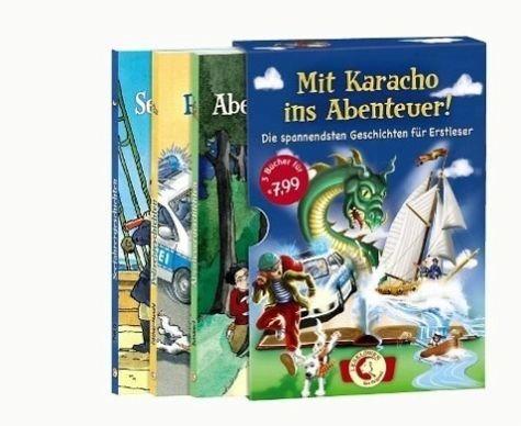 Broschiertes Buch »Leselöwen - Mit Karacho ins Abenteuer!«