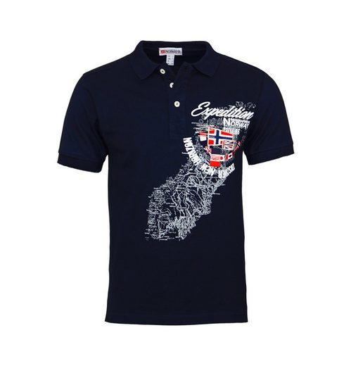 Geographical Norway Poloshirt »Kartifice«