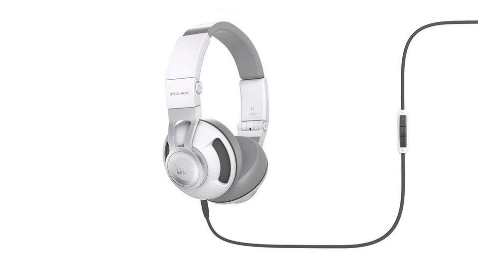 JBL On Ear Kopfhörer »Synchros S300i weiß«