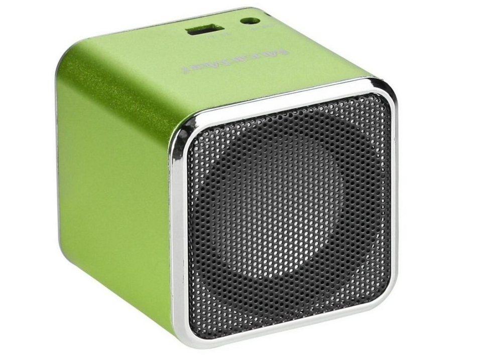 Technaxx Wireless Lautsprecher »MusicMan SOUNDSTATION BT-X2 Grün«