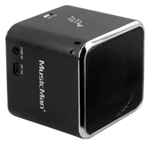 Technaxx Wireless Lautsprecher »MusicMan Soundstation BT-X2 black«