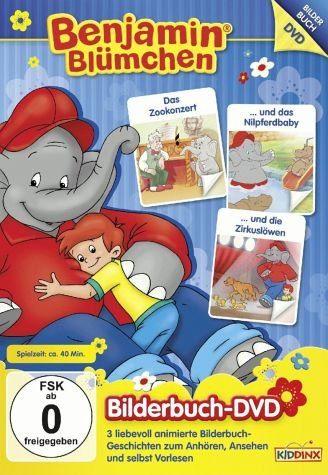 DVD »Benjamin Blümchen - Bilderbuch DVD 1«