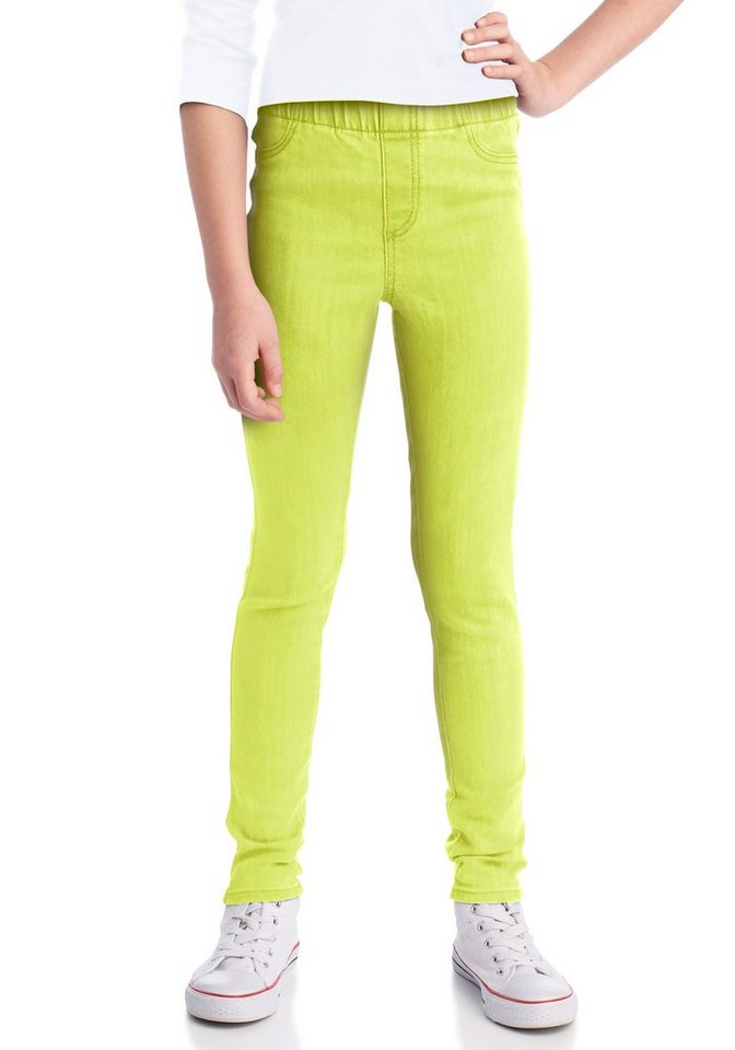 CFL Jeansjeggings Super Skinny in gelb