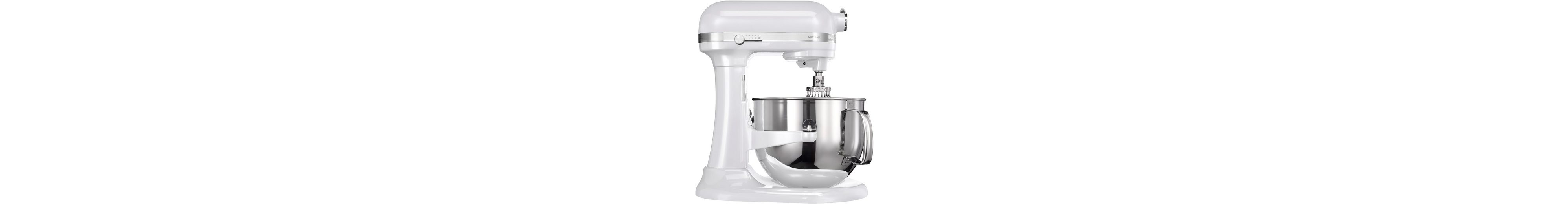KitchenAid Küchenmaschine »Artisan frosted pearl 5KSM7580XEFP«