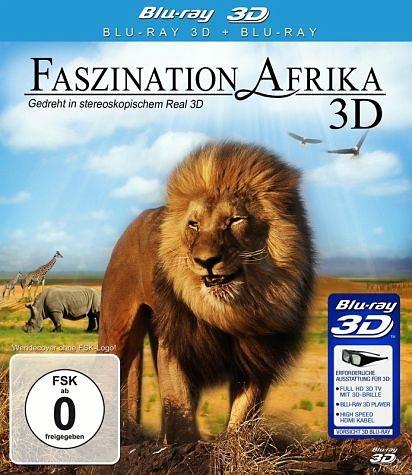 Blu-ray »Faszination Afrika (Blu-ray 3D)«