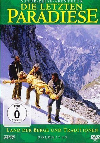DVD »Die letzten Paradiese - Dolomiten - Land der...«