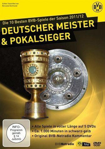 DVD »BVB 09 - Die 10 besten BVB-Spiele der Saison...«