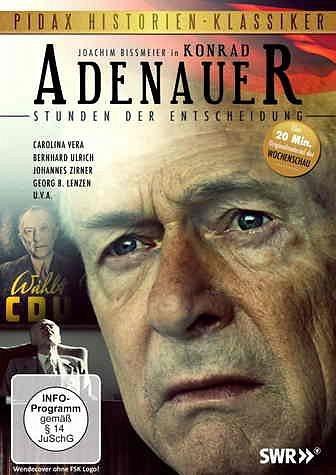 DVD »Konrad Adenauer - Stunden der Entscheidung«