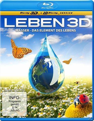Blu-ray »Leben 3D, Wasser - das Element des Lebens«