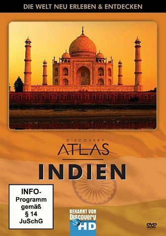 DVD »Discovery Atlas - Indien«