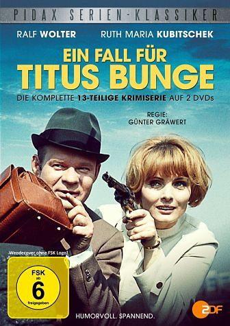 DVD »Ein Fall für Titus Bunge (2 Discs)«
