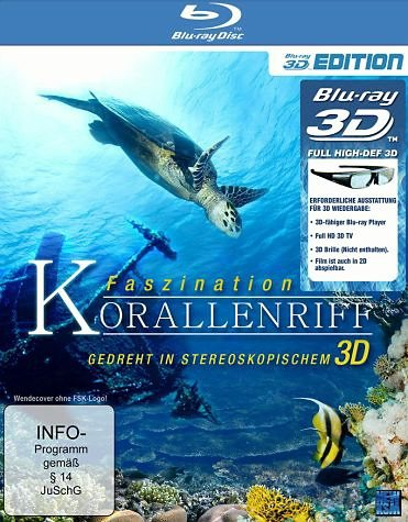 Blu-ray »Faszination Korallenriff (Blu-ray 3D)«