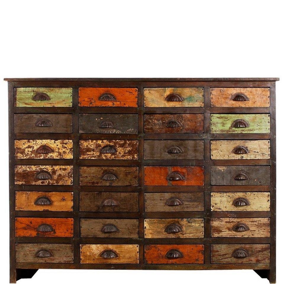 butlers mondriani sideboard mit 28 schubladen otto. Black Bedroom Furniture Sets. Home Design Ideas