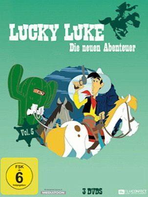 DVD »Lucky Luke - Die neuen Abenteuer, Vol. 5...«