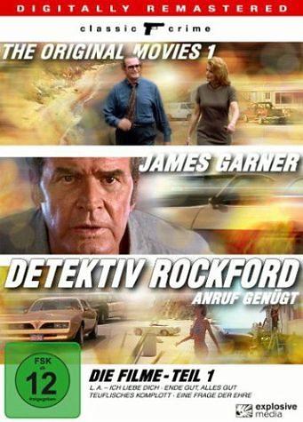 DVD »Detektiv Rockford: Anruf genügt - Die Filme,...«