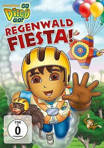 DVD »Go, Diego! Go! - Regenwald Fiesta!«