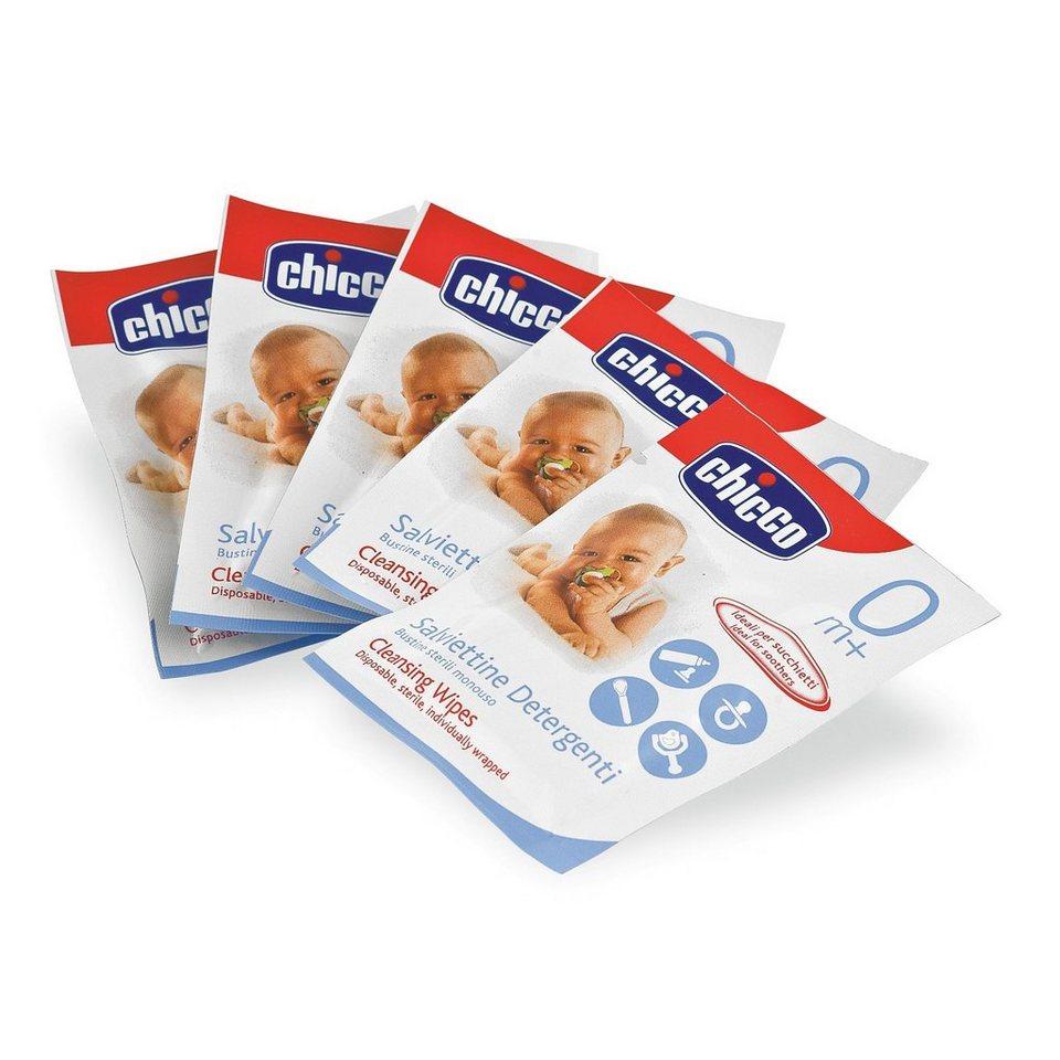CHICCO Sterile Reinigungstücher für unterwegs, 15 Stk.