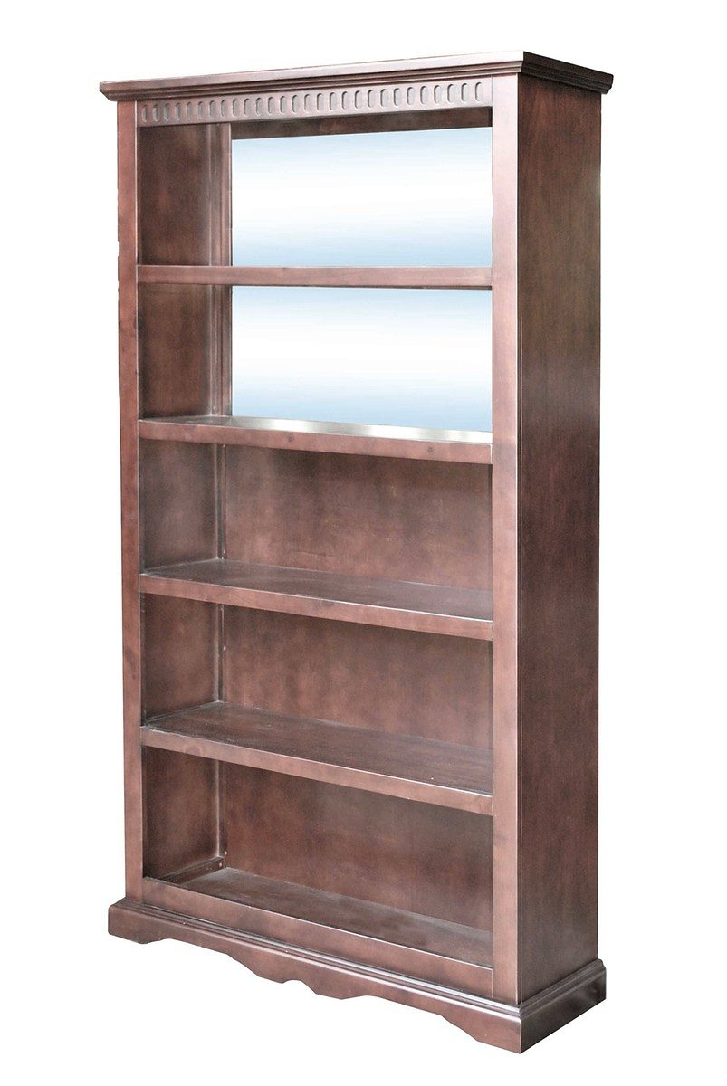 Kasper-Wohndesign Barregal mit Spiegel und 4 Böden Kolonialstil »DELHI«
