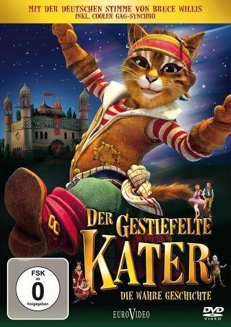 DVD »Der gestiefelte Kater - Die wahre Geschichte«