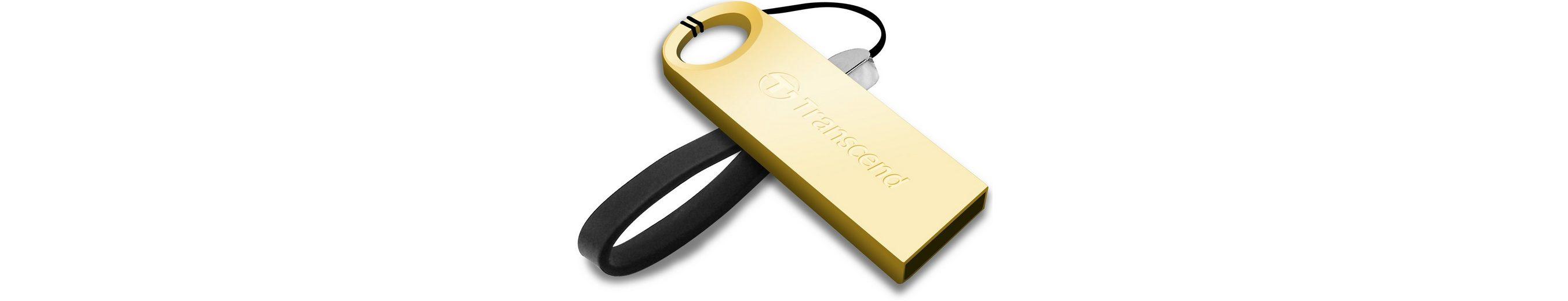 Transcend 64GB JetFlash 520G USB-Stick mit Metallgehäuse USB 2.0