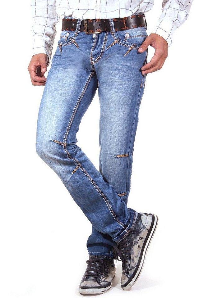 R-NEAL Jeans Slim Fit in blau