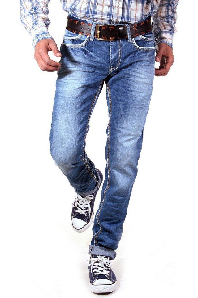 R-NEAL Jeans Regular Fit in blau