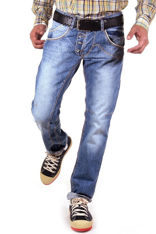 R-NEAL Jeans Regular Fit in indigo