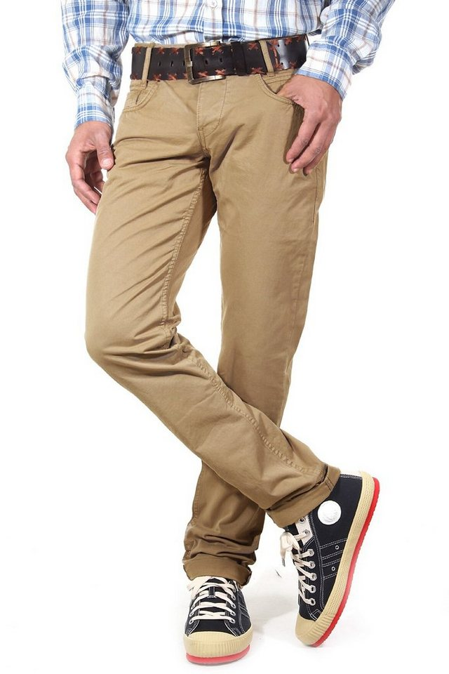 R-NEAL 5 Pocket Hose regular fit in khaki