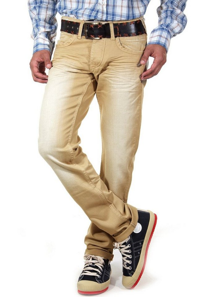 R-NEAL Jeans Colour Regular Fit in sand