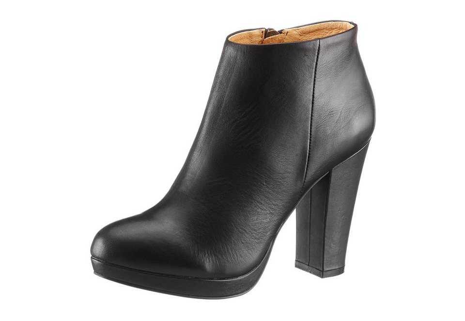 Buffalo London High Heel Stiefelette in schwarz