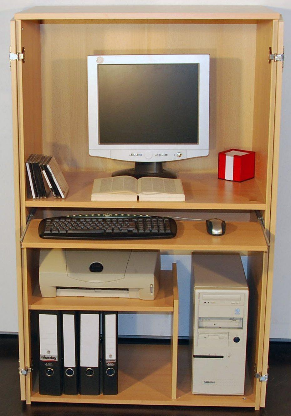 PC-Schrank, Höhe ca. 132 cm