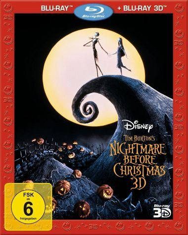Blu-ray »Nightmare Before Christmas (Blu-ray 3D, +...«