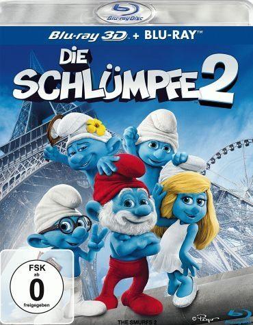 Blu-ray »Die Schlümpfe 2 (Blu-ray 3D, + Blu-ray 2D)«