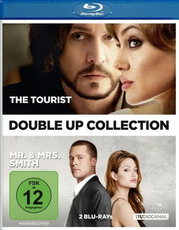 Blu-ray »Double Up Collection: The Tourist / Mr. & Mrs....«