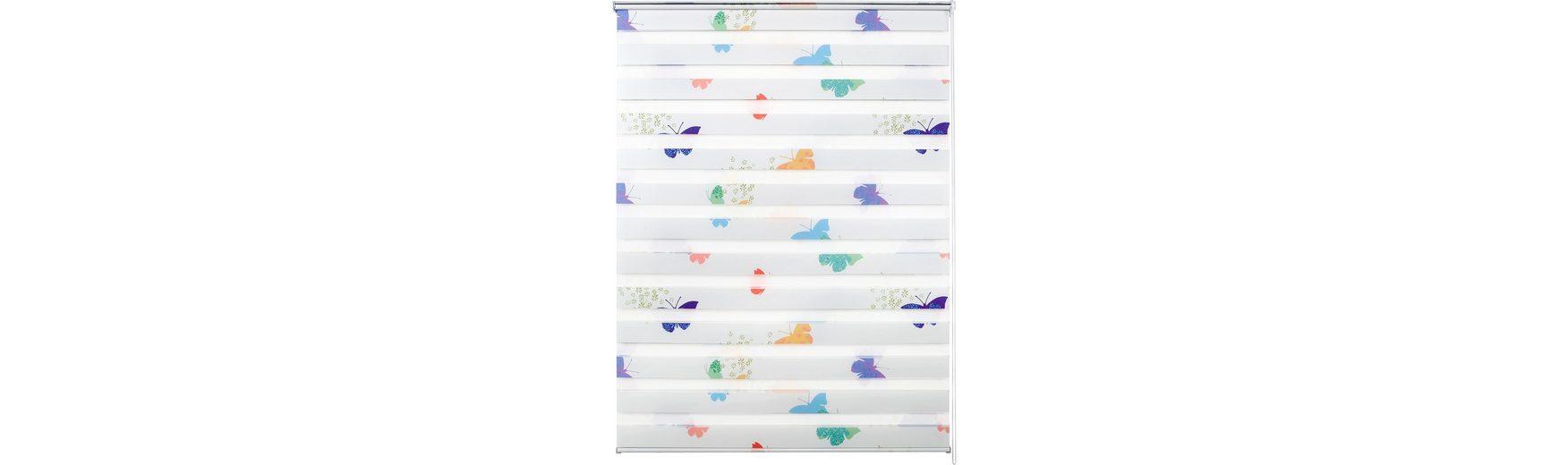 Doppelrollo, Good Life, »Nicki«, im Wunschmaß, Wand- und Deckenmontage, groß, Lichtschutz (1 Stck.)
