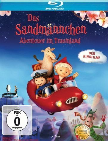 Blu-ray »Das Sandmännchen - Abenteuer im Traumland«