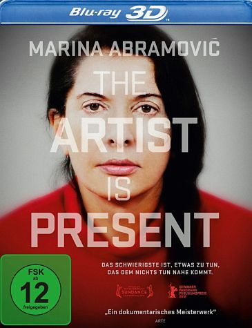 Blu-ray »Marina Abramovic: The Artist Is Present (OmU)«