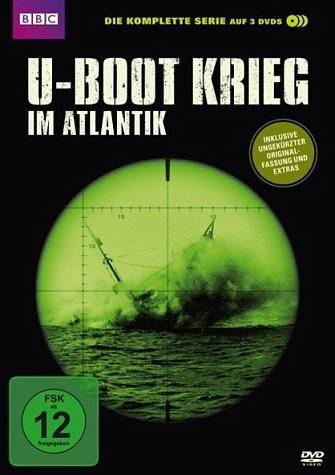 DVD »U-Boot Krieg im Atlantik - Die komplette Serie...«