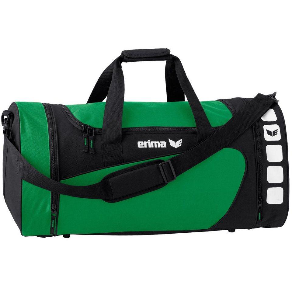 ERIMA CLUB 5 Sporttasche L in smaragd/schwarz