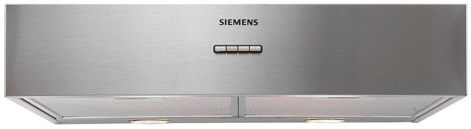Siemens Unterbauhaube LU29050 in edelstahl