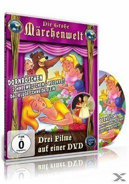 DVD »Die große Märchenwelt ( Dornröschen,...«