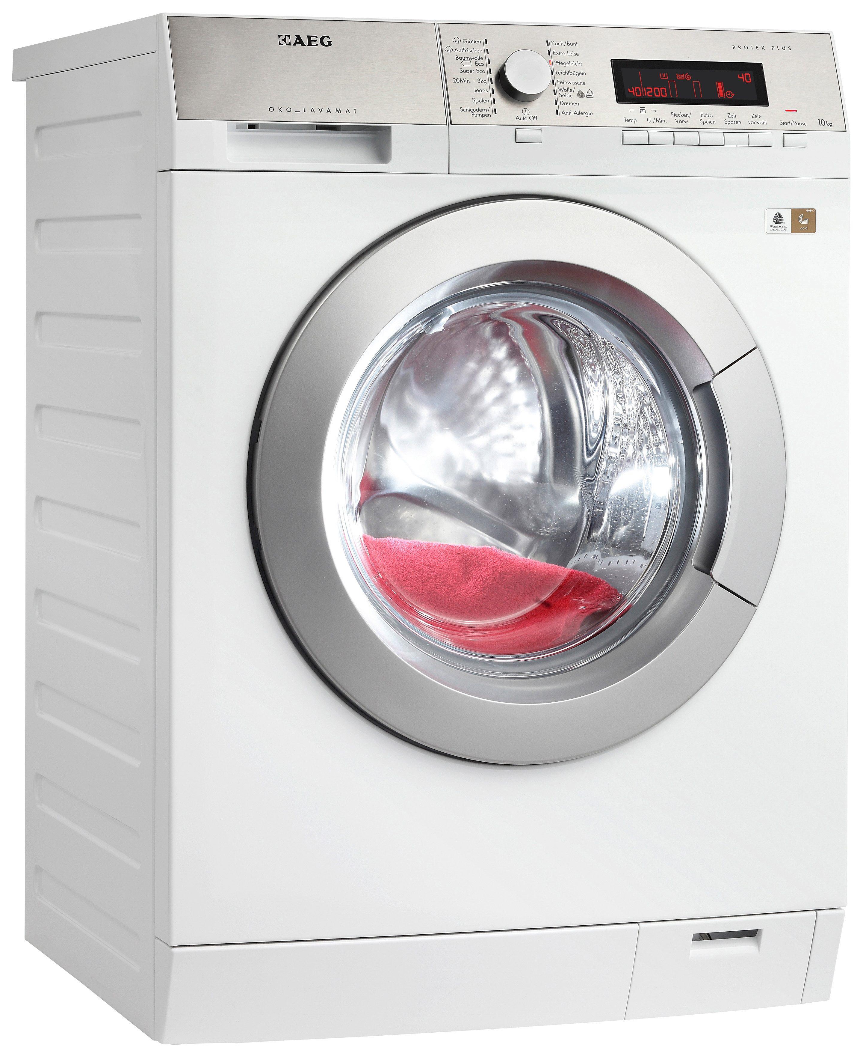 AEG Waschmaschine Lavamat L87404EFL, A+++, 10 kg, 1400 U/Min