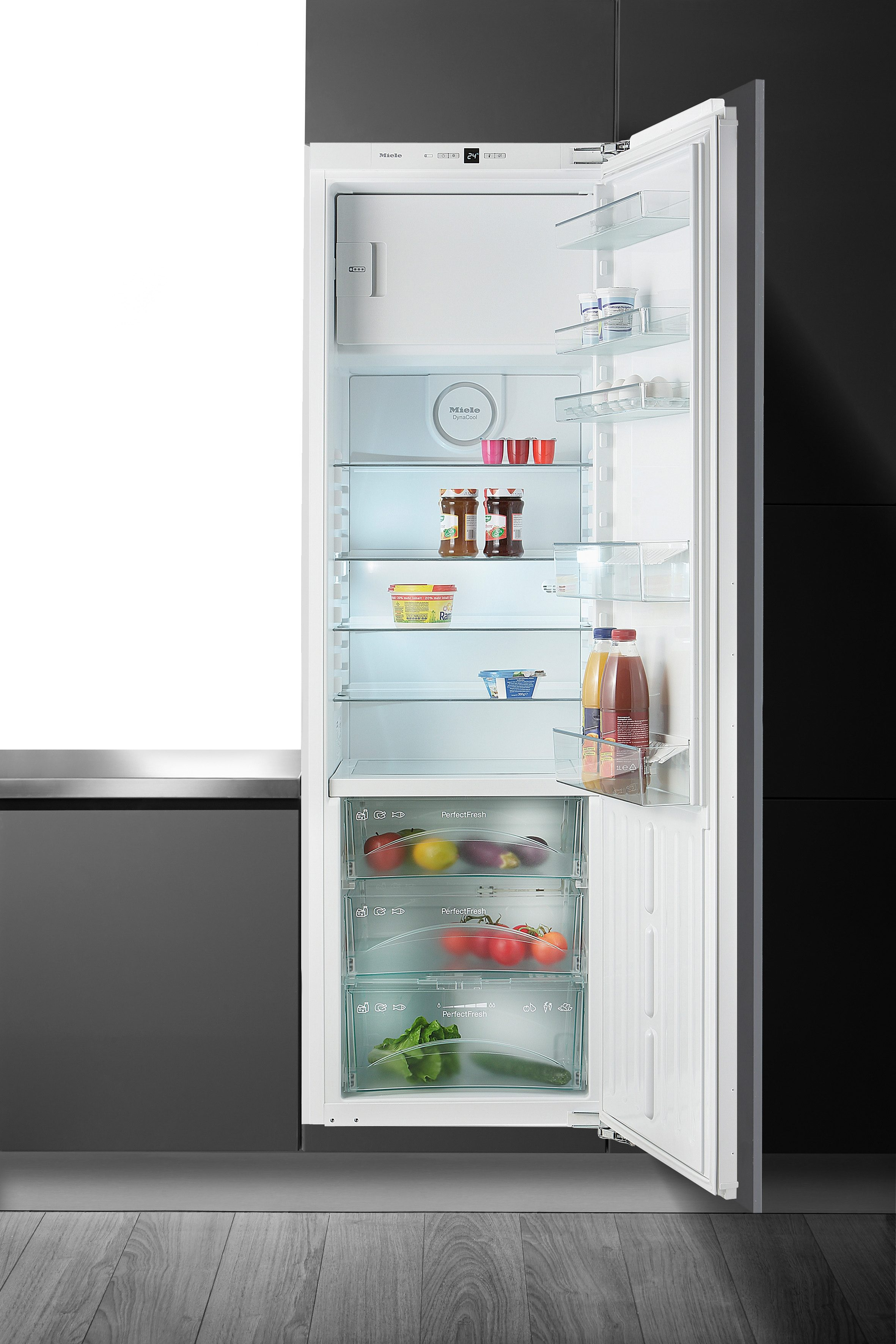 Miele integrierbarer Einbau-Kühlschrank K 37282 iDF, A++, 177 cm