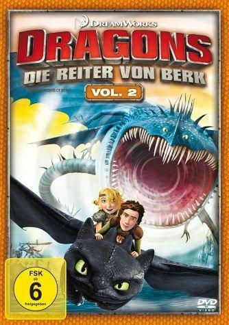 DVD »Dragons - Die Reiter von Berk, Vol. 2«