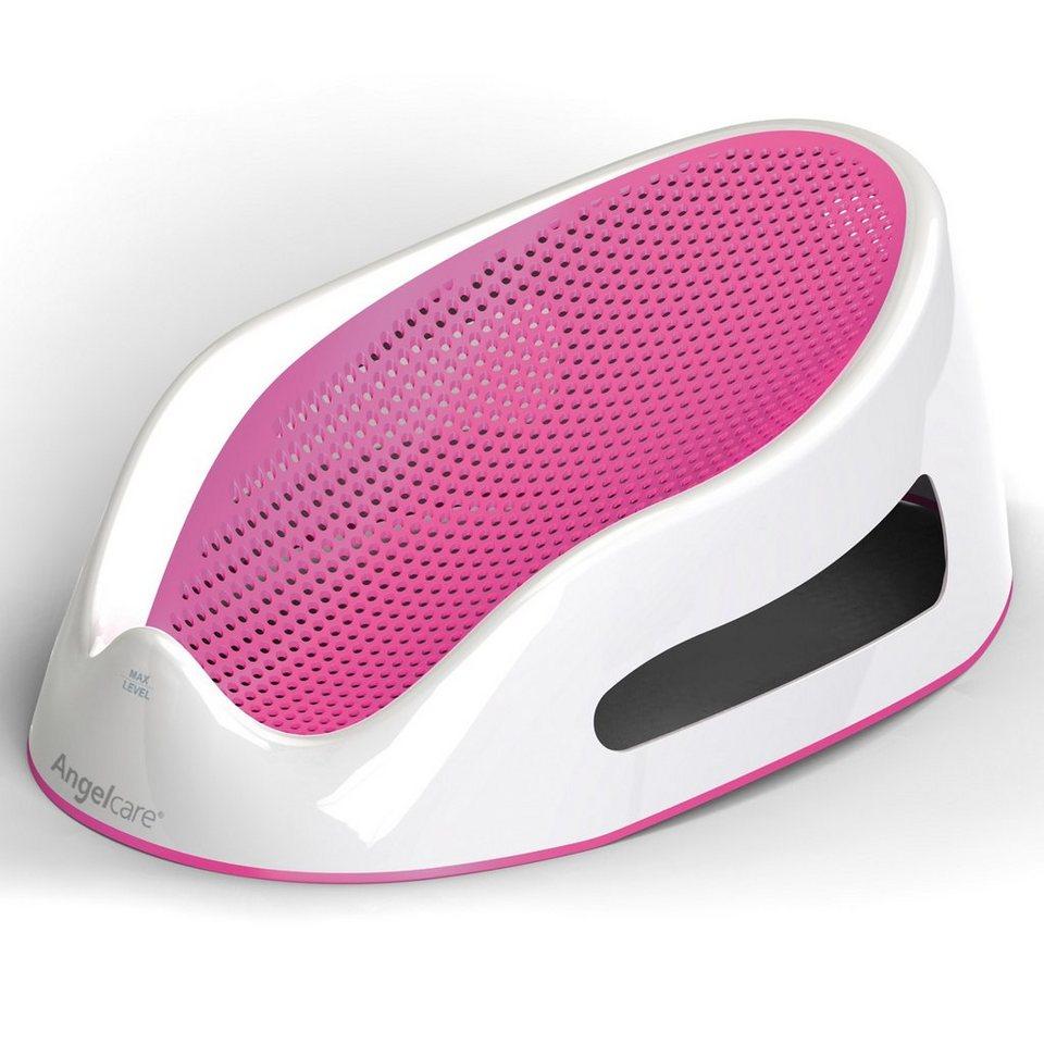 Angelcare ® Badesitz, rosa in rosa