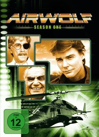 DVD »Airwolf - Season 1 (3 Discs)«